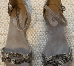 Lazzarini kožne sandale (uključena pt)