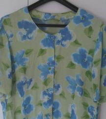 Prozračna ljetna bluza kratki rukav L