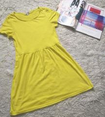 Žuta ljetna haljinica