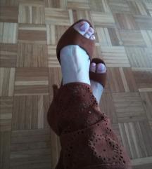 Sandale kožne 6.8 cm