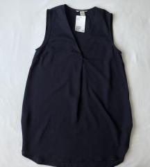 H&M dugačka bluza s v-izrezom