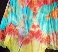 Suknja/hlače - svila
