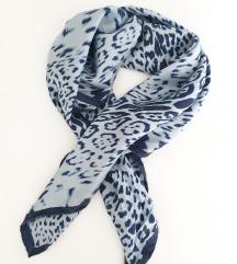 animal print marama - 100% svila