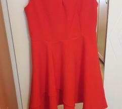 Crvena haljina A kroja