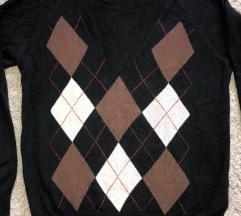 Zara pulover na rombove vel. S
