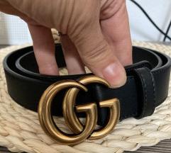 Gucci remen crni
