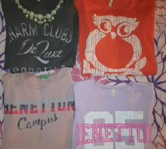 Lot Benetton majice