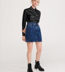 Jeans suknja reserved kao nova