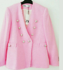 Zara rozi sako od tvida