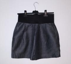 ZARA tamnosiva suknja