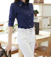 Plava košulja/bluza
