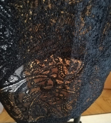 Bershka čipkasta suknja/ PT uključena