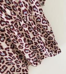 Leopard pink bluza