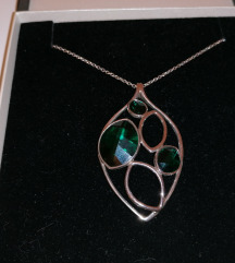 Srebrna ogrlica Lencia