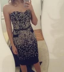 MANGO SUIT midi haljina sa remenčićem