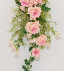 NOVO Kaskadni buket umjetno cvijeće