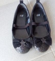 HM crne šljokaste balerinke 28 gaziše 17cm