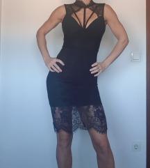 Bandage čipka haljina