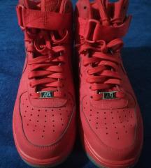 Nike air force 1 high red (visoke crvene)