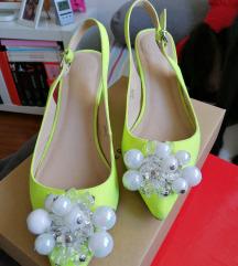 ASOS neon žute cipele