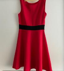 Crvena svečana haljinica