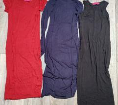 3 pamučne haljine