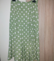 Polka dot suknja 40