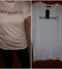 Nova bijela majica-oversize model