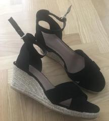 Crna sandale špagerice,vel.40