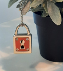Ogrlica kljuc i lokot