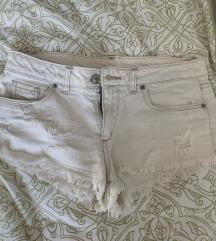 H&M bijele kratke hlače