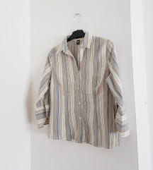 H&M prugasta košulja
