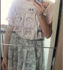 Zara cipkasta suknja