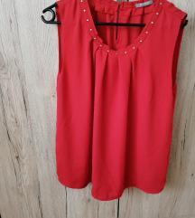 Orsay crvena bluza vel. 44 20 kn