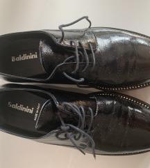 Crne kožne Baldinini cipele