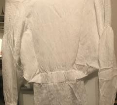 Zara bluza zgužvanog izgleda