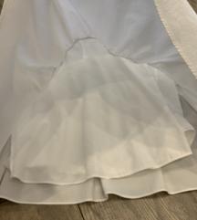 Zara bijela haljina/tunika