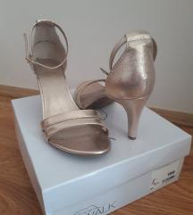 Zlatne sandale- SNIŽENO