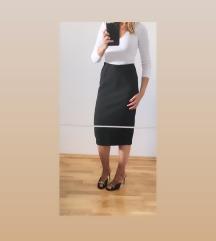 SNIZENO - Massimo Dutti crna suknja