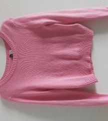 H&M ženski rozi đemper