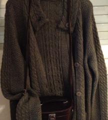 LIVINGSTONE alpaca vuna kardigan  pulover