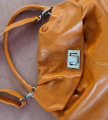 Kožna casual torba