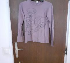 Benetton dječja ženska majica dugih rukava