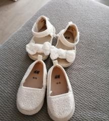 Komplet sandale i balerinke