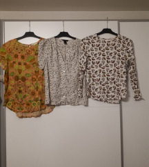 Proljetne H&M bluze