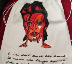 Platneni ruksak David Bowie