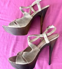Sandale (jako udobna platforma)
