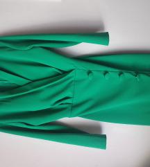 REZ Zelena haljina