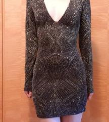 H&M Divided uska mini haljina s dugim rukavima