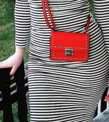 Crvena NY torbica